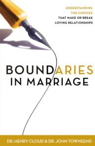 Boundaries in Marriage By Henry Cloud, John Townsend